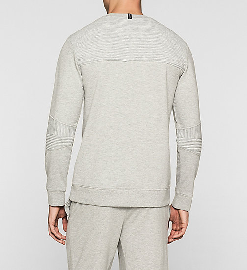CALVINKLEIN Sweatshirt - Sculpt - GREY HEATHER - CALVIN KLEIN PYJAMA TOPS - detail image 1