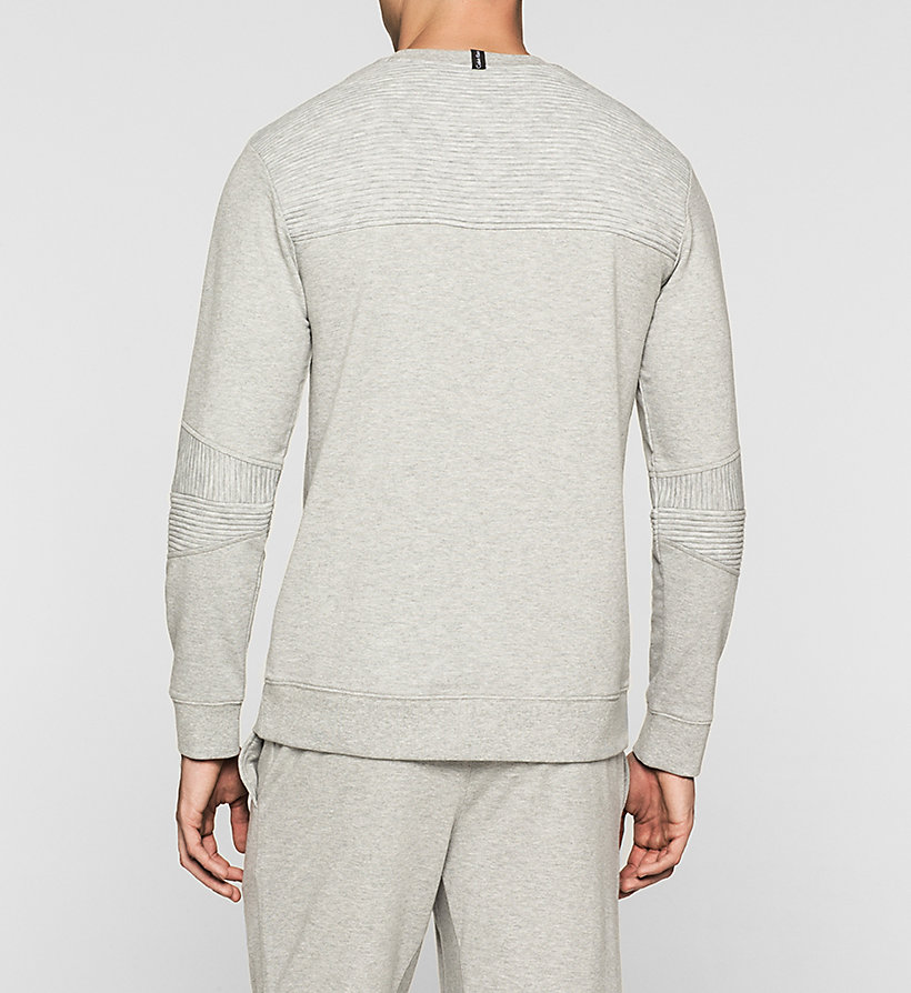 CALVINKLEIN Sweatshirt - Sculpt - GREY HEATHER - CALVIN KLEIN JUMPERS - detail image 1