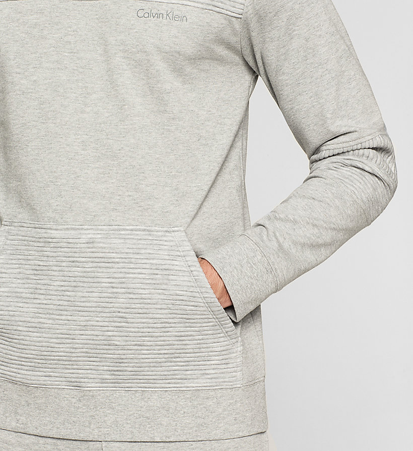 CALVINKLEIN Sweatshirt - Sculpt - GREY HEATHER - CALVIN KLEIN JUMPERS - detail image 2