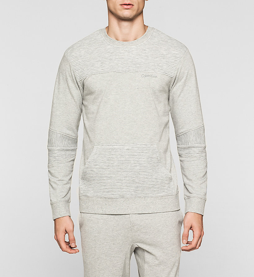 CALVINKLEIN Sweatshirt - Sculpt - GREY HEATHER - CALVIN KLEIN JUMPERS - main image