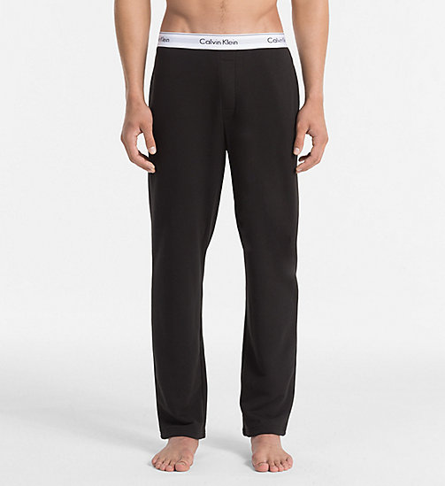 CALVINKLEIN Pants - Modern Cotton - BLACK - CALVIN KLEIN PYJAMA BOTTOMS - main image