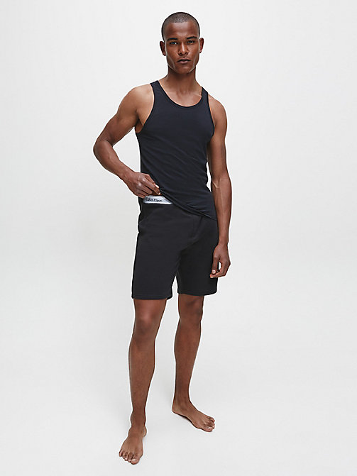CALVINKLEIN Shorts - Modern Cotton - BLACK - CALVIN KLEIN PYJAMA BOTTOMS - detail image 1
