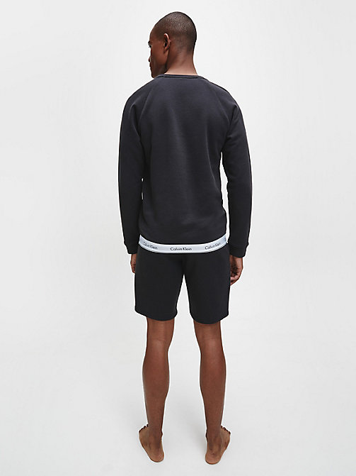 CALVINKLEIN Sweatshirt - Modern Cotton - BLACK - CALVIN KLEIN MEN - detail image 1