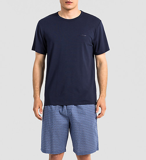 CALVINKLEIN T-shirt - Infinite - CARBON BLUE - CALVIN KLEIN NIGHTWEAR & LOUNGEWEAR - main image