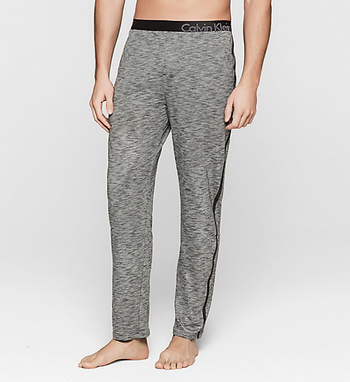 CALVINKLEIN Pants - Edge - CHARCOAL HEATHER - CALVIN KLEIN PYJAMA BOTTOMS - main image