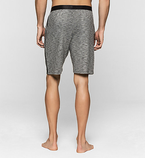 CALVINKLEIN Shorts - Edge - CHARCOAL HEATHER - CALVIN KLEIN NIGHTWEAR & LOUNGEWEAR - detail image 1