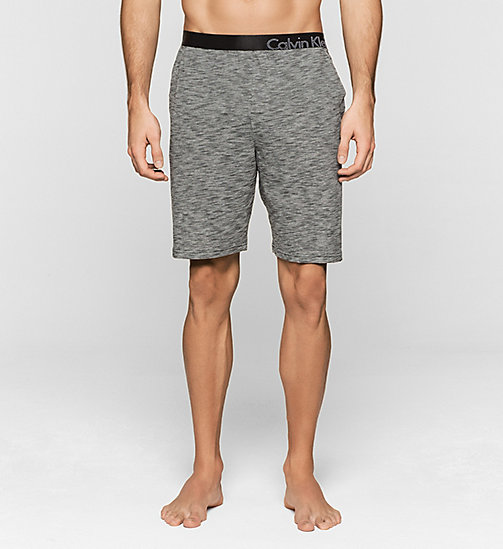 CALVINKLEIN Shorts - Edge - CHARCOAL HEATHER - CALVIN KLEIN NIGHTWEAR & LOUNGEWEAR - main image