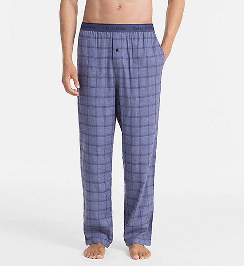 CALVINKLEIN PJ Pants - GERE PLAID PLACID - CALVIN KLEIN PYJAMA BOTTOMS - main image
