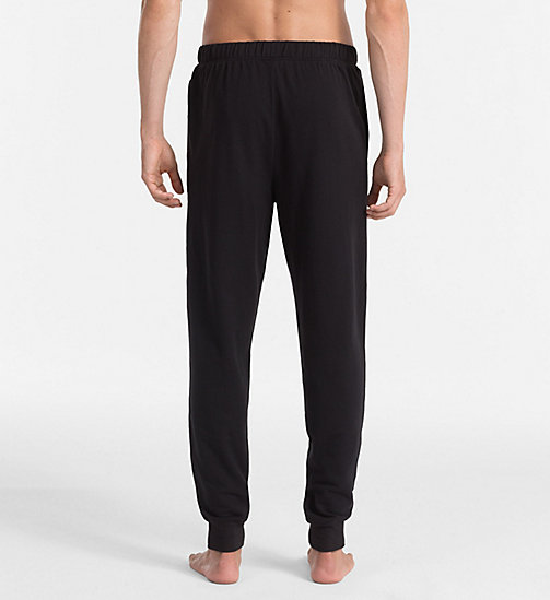 CALVINKLEIN Logo Sweatpants - BLACK - CALVIN KLEIN PYJAMA BOTTOMS - detail image 1