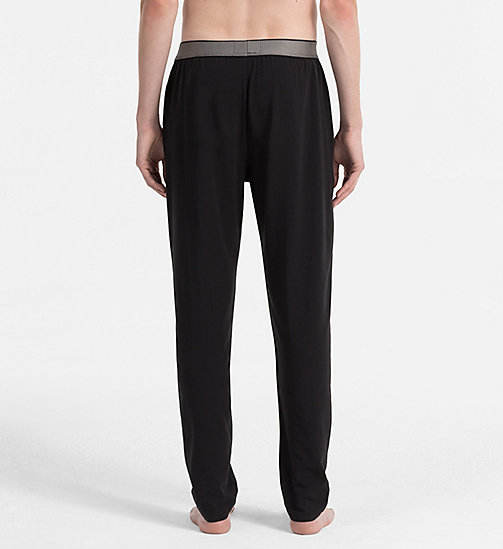 CALVINKLEIN Pantaloni PJ  - Customized Stretch - BLACK - CALVIN KLEIN LOUNGEWEAR - dettaglio immagine 1