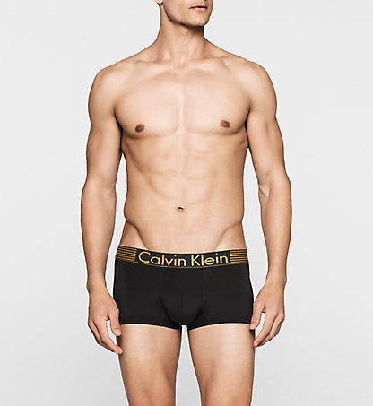 CALVIN KLEIN Low Rise Trunks - Iron Strength 000NU8620A001