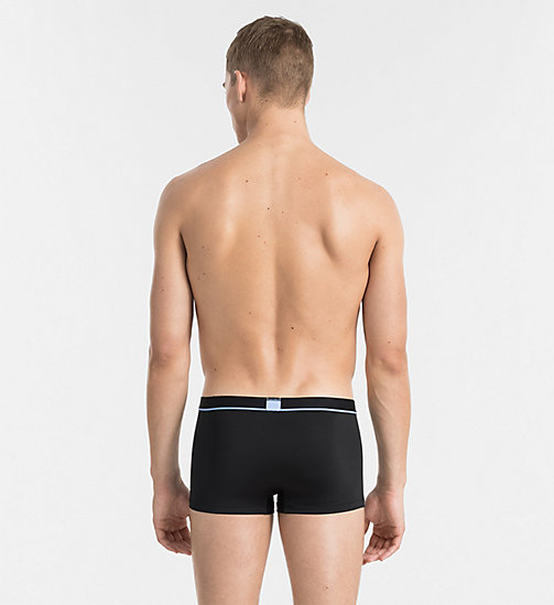 CALVINKLEIN Low Rise Trunks - Calvin Klein ID - BLACK DELLA PLACED LOGO - CALVIN KLEIN NEW ARRIVALS - detail image 1