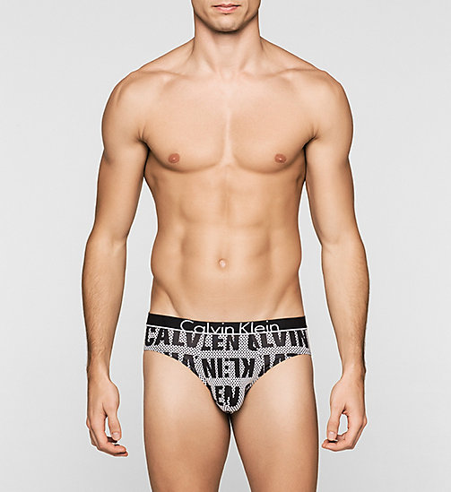 CALVINKLEIN Hip Briefs - Calvin Klein ID - POINT LOGO BLACK - CALVIN KLEIN MEN - main image