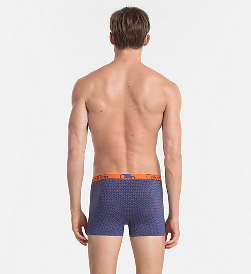 CALVINKLEIN Trunks - Calvin Klein ID - STRIKE THROUGH CIRCLES PRINT PLACID - CALVIN KLEIN NEW ARRIVALS - detail image 1