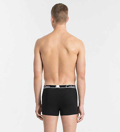 CALVINKLEIN Trunks - Calvin Klein ID - BLACK WHITE PLACED LOGO - CALVIN KLEIN NEW ARRIVALS - detail image 1