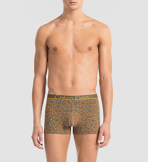 CALVINKLEIN Trunks - Calvin Klein ID - CRACKED GEO HUNTER - CALVIN KLEIN Up to 40% - main image