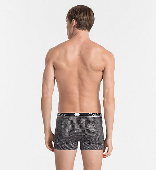 CALVINKLEIN Trunks - Calvin Klein ID - GRAVEL BOX PRINT BLACK - CALVIN KLEIN NEW ARRIVALS - detail image 1