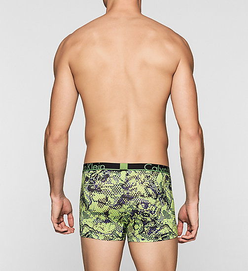 CALVINKLEIN Trunks - Calvin Klein ID - OPTICAL CAMO NANDAY GREEN - CALVIN KLEIN TRUNKS - detail image 1