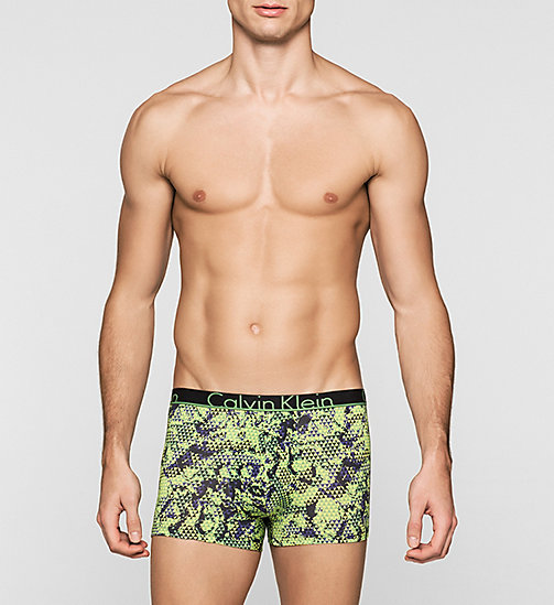 CALVINKLEIN Trunks - Calvin Klein ID - OPTICAL CAMO NANDAY GREEN - CALVIN KLEIN TRUNKS - main image