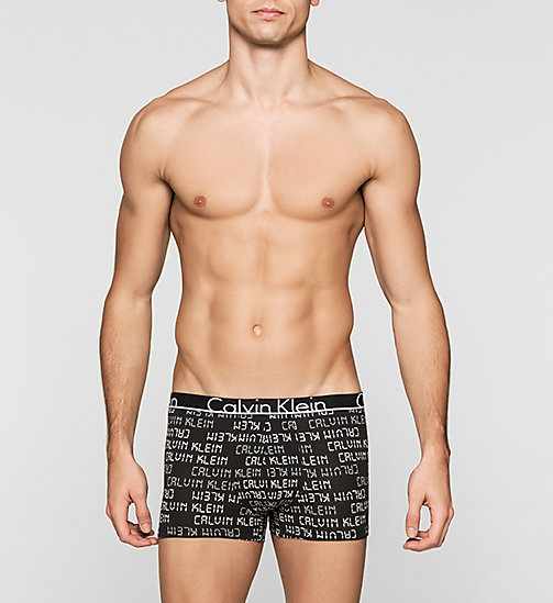 CALVINKLEIN Trunks - Calvin Klein ID - DIGITAL LOGO BLACK - CALVIN KLEIN TRUNKS - main image