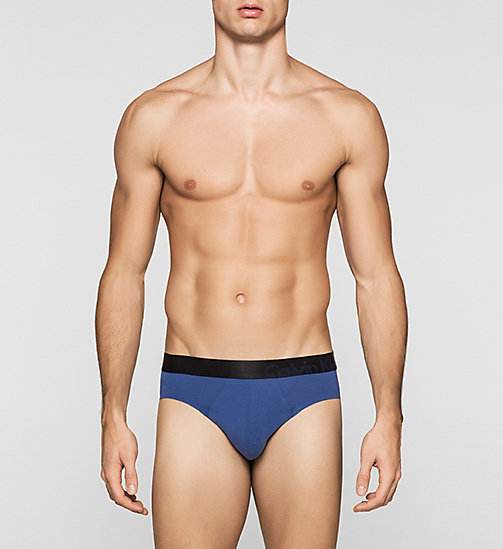 CALVINKLEIN Hip Briefs - Edge - DARK MIDNIGHT - CALVIN KLEIN BRIEFS - main image