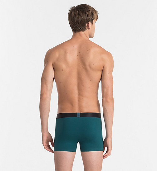 CALVINKLEIN Trunks - Tech Fusion - DEEP TEAL - CALVIN KLEIN NEW ARRIVALS - detail image 1