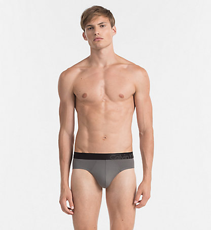 CALVIN KLEIN Hip Briefs - Tech Fusion 000NU8658A5GS