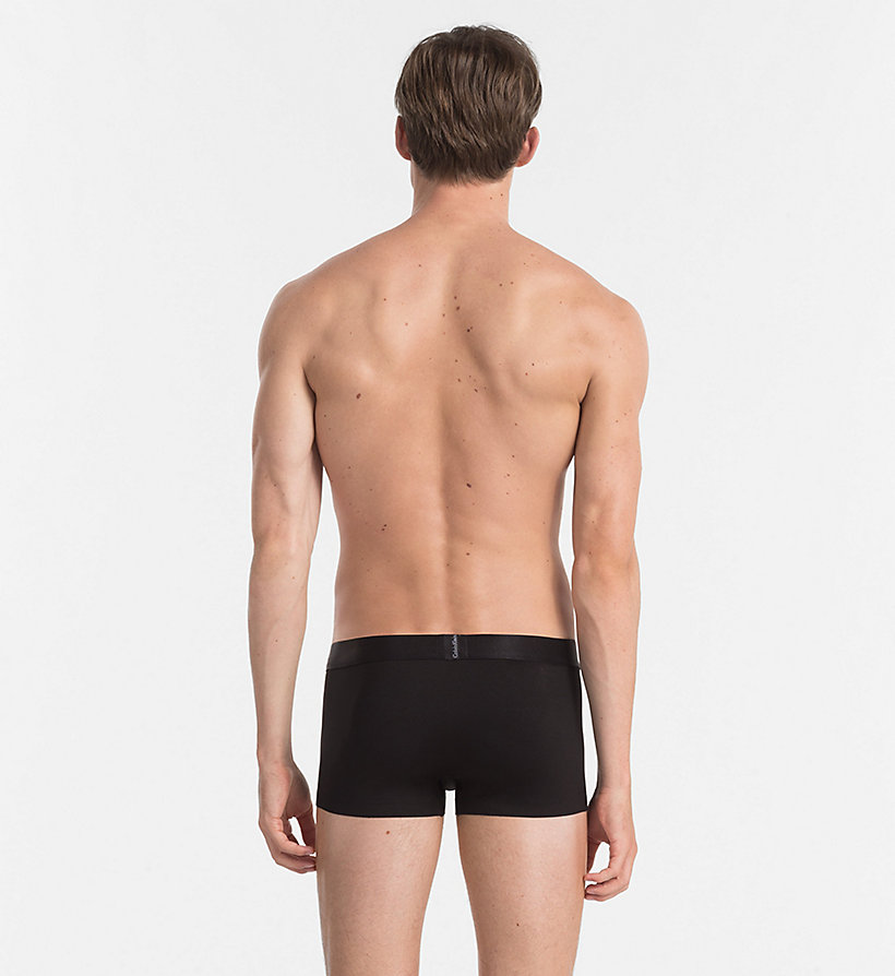 CALVINKLEIN Low Rise Trunks - Edge - BLACK - CALVIN KLEIN MEN - detail image 1