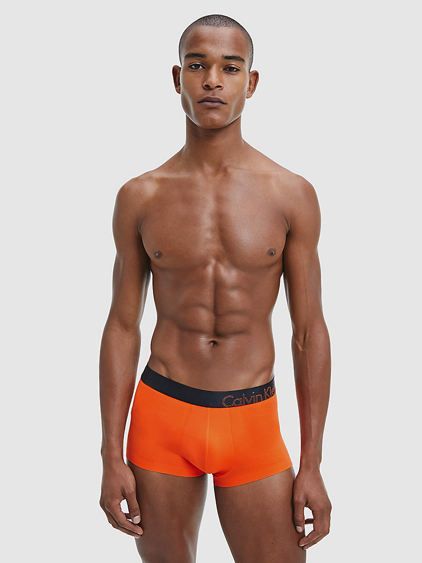 CALVINKLEIN Low Rise Trunks - Edge - CALLA ORANGE - CALVIN KLEIN MEN - detail image 1