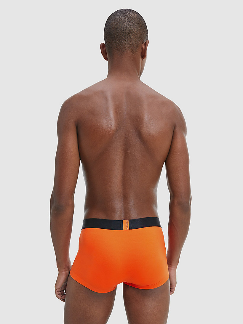 CALVINKLEIN Low Rise Trunks - Edge - CALLA ORANGE - CALVIN KLEIN MEN - detail image 2