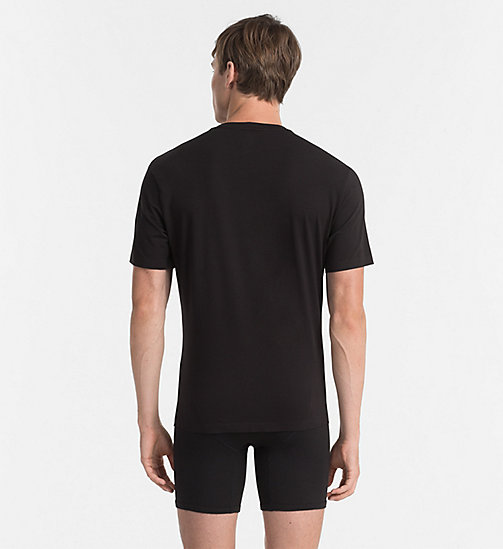 CALVINKLEIN T-shirt - Edge - BLACK - CALVIN KLEIN MEN - detail image 1