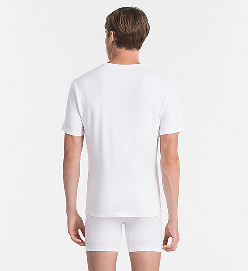 CALVINKLEIN T-shirt - Edge - WHITE - CALVIN KLEIN MEN - detail image 1