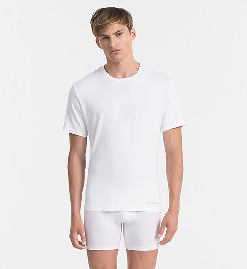 CALVINKLEIN T-shirt - Edge - WHITE - CALVIN KLEIN MEN - main image