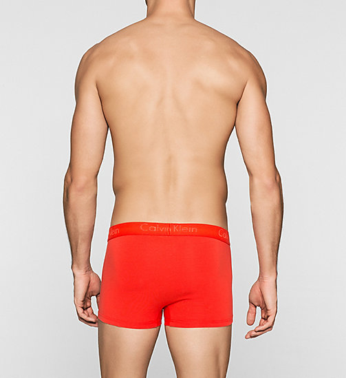 CALVINKLEIN Boxer - Infinite - ORANGE ROGUE - CALVIN KLEIN  - image détaillée 1