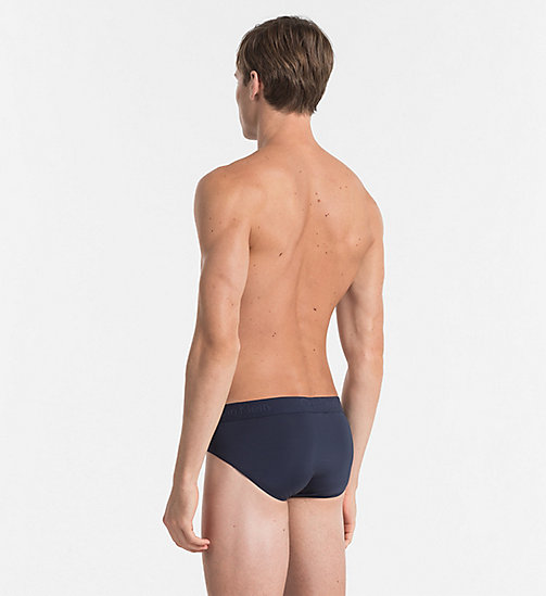 CALVINKLEIN Hip Briefs - Infinite - BLUE SHADOW - CALVIN KLEIN BRIEFS - detail image 1