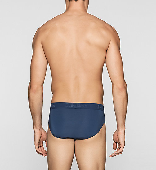CALVINKLEIN Hip Briefs - Infinite - AIRFORCE - CALVIN KLEIN BRIEFS - detail image 1