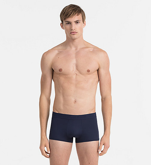 CALVINKLEIN Low Rise Trunks - Infinite - BLUE SHADOW - CALVIN KLEIN TRUNKS - main image