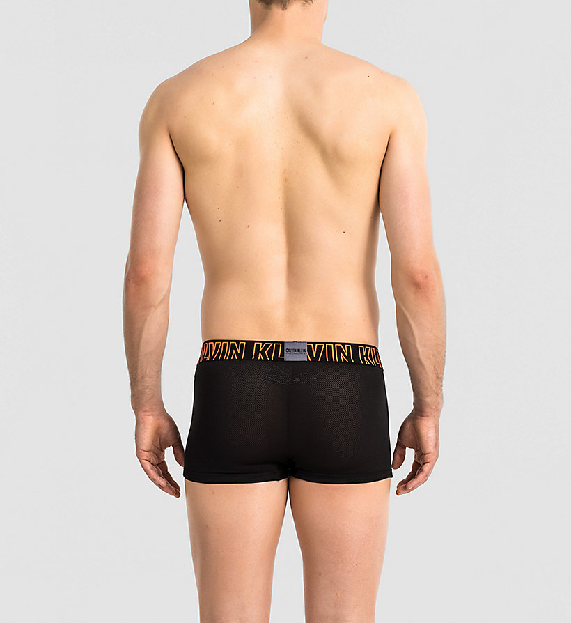 CALVINKLEIN Low Rise Trunks - Zone FX - POWER ORANGE - CALVIN KLEIN UNDERWEAR - detail image 1