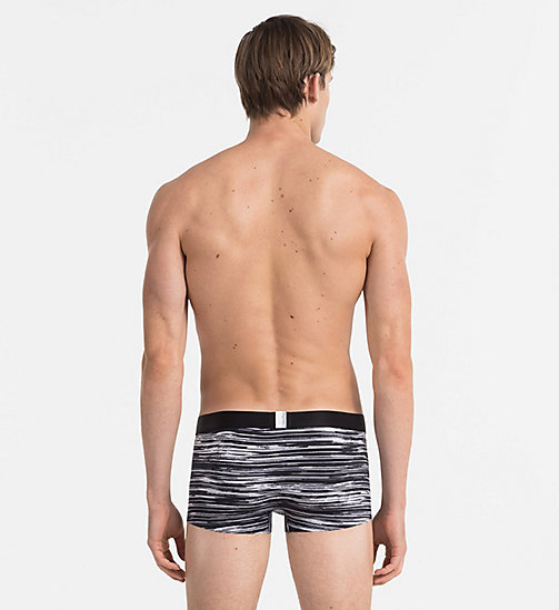 CALVINKLEIN Low Rise Trunks - Tech Fusion - INTERRUPTED STRIPE BLACK - CALVIN KLEIN NEW ARRIVALS - detail image 1