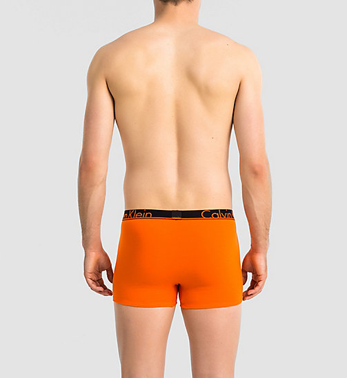 CALVINKLEIN Trunks - CK Anarchy - CALLA ORANGE W/ BLACK - CALVIN KLEIN TRUNKS - detail image 1