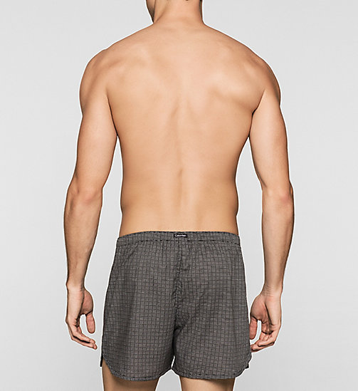 CALVINKLEIN Slim Fit Boxers - MORSE CODE BLACK - CALVIN KLEIN Up to 50% - detail image 1