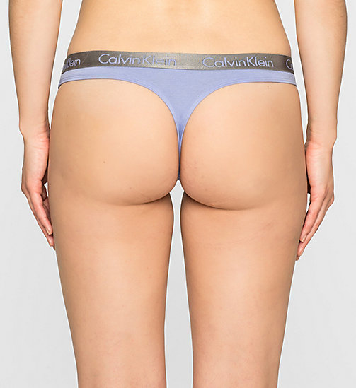 Thong - Radiant Cotton - EPHEMERAL - CALVIN KLEIN UNDERWEAR - detail image 1