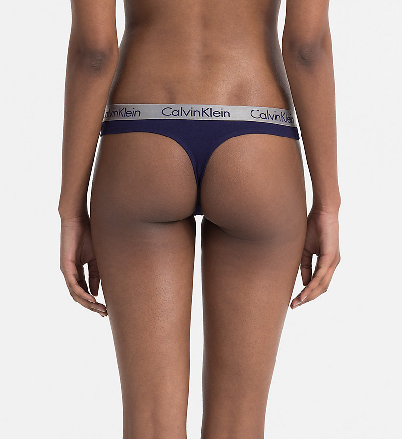 CALVINKLEIN String - Radiant Cotton - SIREN SONG - CALVIN KLEIN DAMEN - main image 1