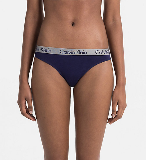 CALVINKLEIN Thong - Radiant Cotton - SIREN SONG - CALVIN KLEIN WOMEN - main image