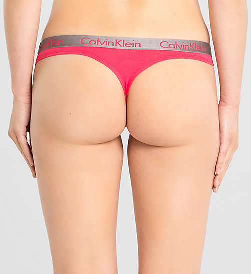 String - Radiant Cotton - SULTRY - CALVIN KLEIN  - main image 1