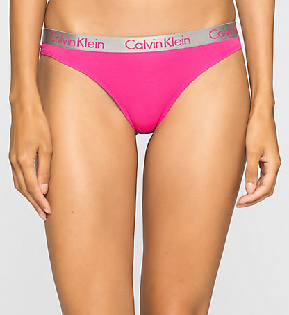 CALVIN KLEIN Thong - Radiant Cotton 000QD3539EVP7