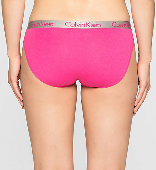 CALVINKLEIN Bikini - Radiant Cotton - VIVA PINK - CALVIN KLEIN Up to 50% - detail image 1