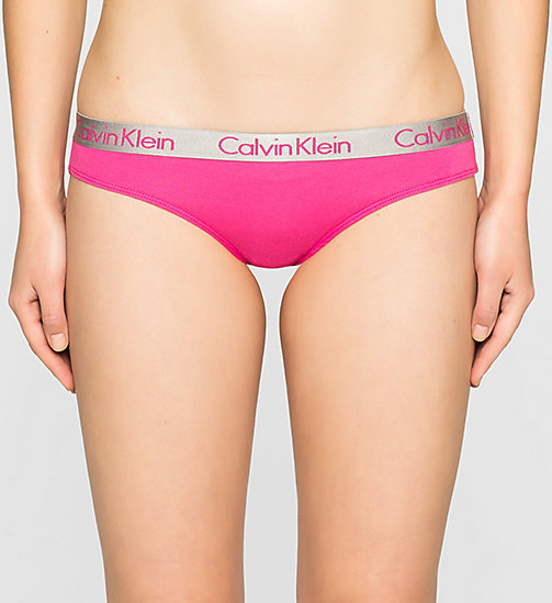 CALVINKLEIN Bikini - Radiant Cotton - VIVA PINK - CALVIN KLEIN Up to 50% - main image