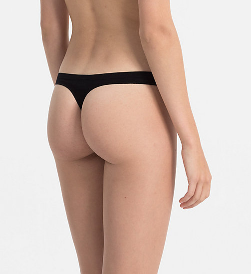 CALVINKLEIN String - Pure Seamless - BLACK - CALVIN KLEIN STRINGS - main image 1