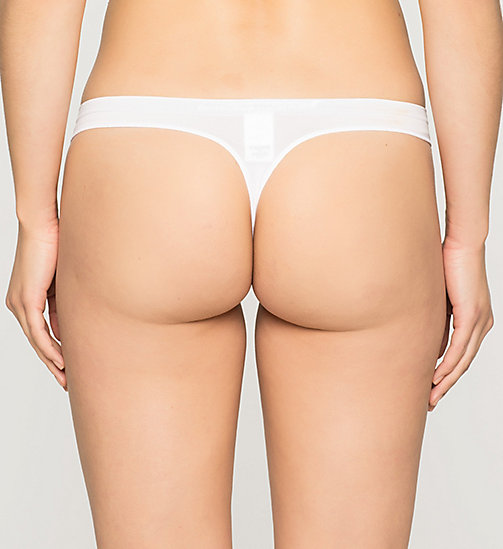 CALVINKLEIN String - Pure Seamless - WHITE - CALVIN KLEIN STRINGS - main image 1